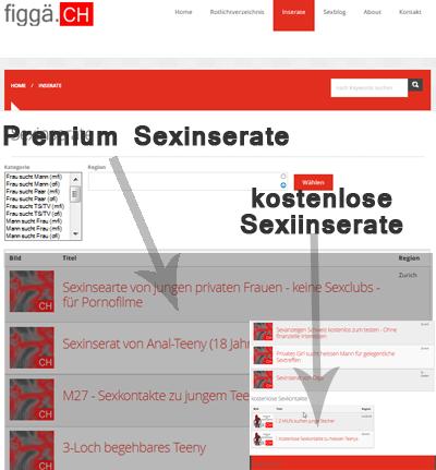 Sexinserate und kostenlose Sexkontakte Werbung